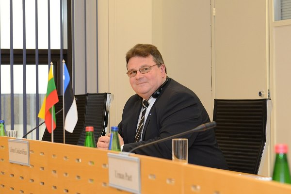 Foreign Minister of Lithuania Linas Linkevičius in Tallinn. 13.03.2013